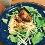 牡蠣屋のオイル漬けde牡蠣のオイルパスタレシピ