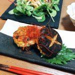 椎茸の肉詰めdeママごはんと離乳食レシピ