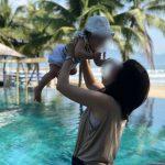 フュージョンダナンのプールで赤ちゃんと遊ぶ〜ベトナムダナン子連れ旅行記〜