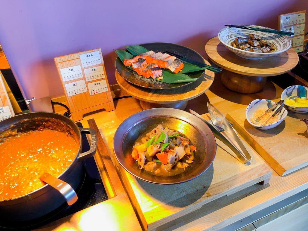 リゾナーレ那須の和食朝食たち