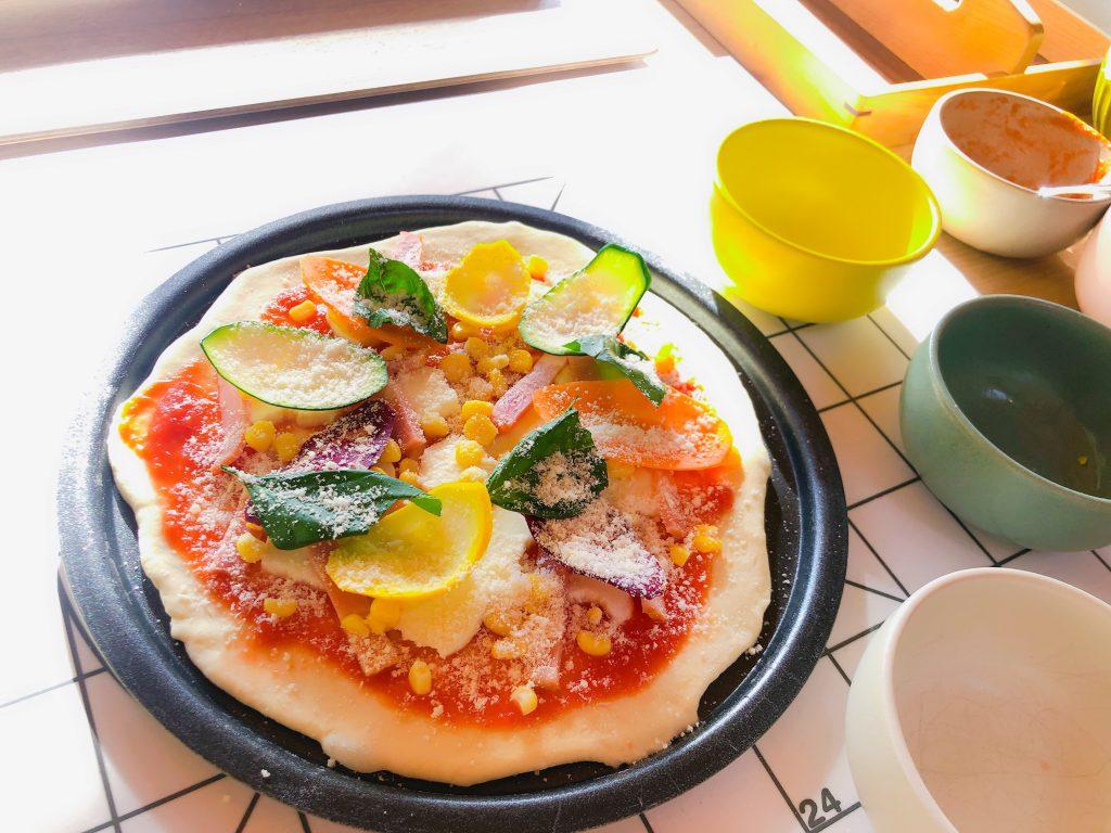リゾナーレ那須で石窯ピッツァ作り