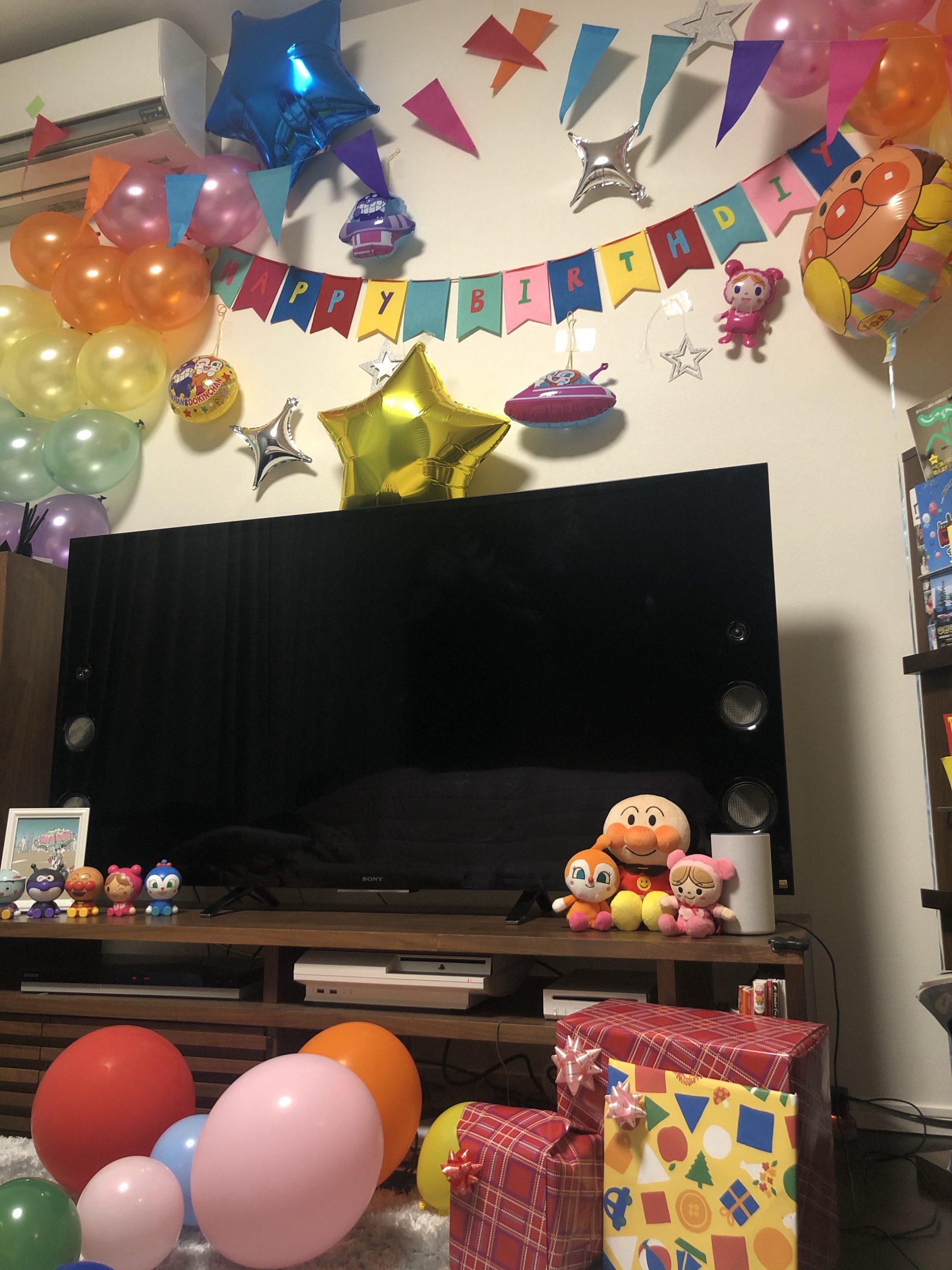 アンパンマンのパーティー装飾3